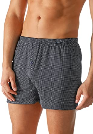 Mey Club Coll Club Coll. Herren Boxer-Shorts Blau 4