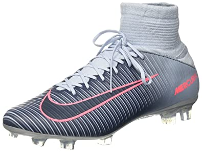 NIKE Mens Mercurial Veloce III DF FG - (Light Armory Blue/Armory Navy)