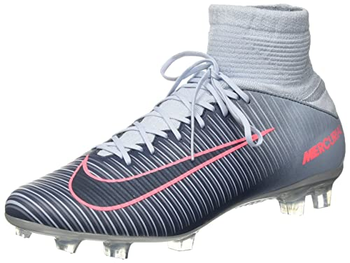 53a0ced4266 Nike Mercurial Veloce III DF FG 831961-400 Light Armory Blue Soccer Cleats  (13