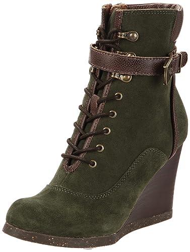 Botas para mujer, color verde, talla 42 Dr. Scholls