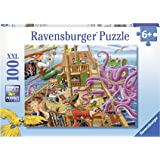 Ravensburger Pirate Boat Adventure Puzzle 100pc,Children's Puzzles