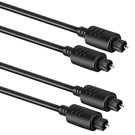 DreamGEAR DGUN-2870 Optical Cable Twin Pack One 6/10 Cable