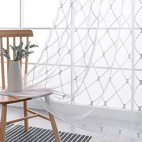 BONZER Semi Sheer Curtain