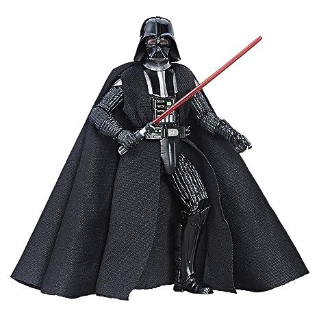0e36dd11a Amazon.com: Star Wars Series Darth Vader Action Figure, Black, 6