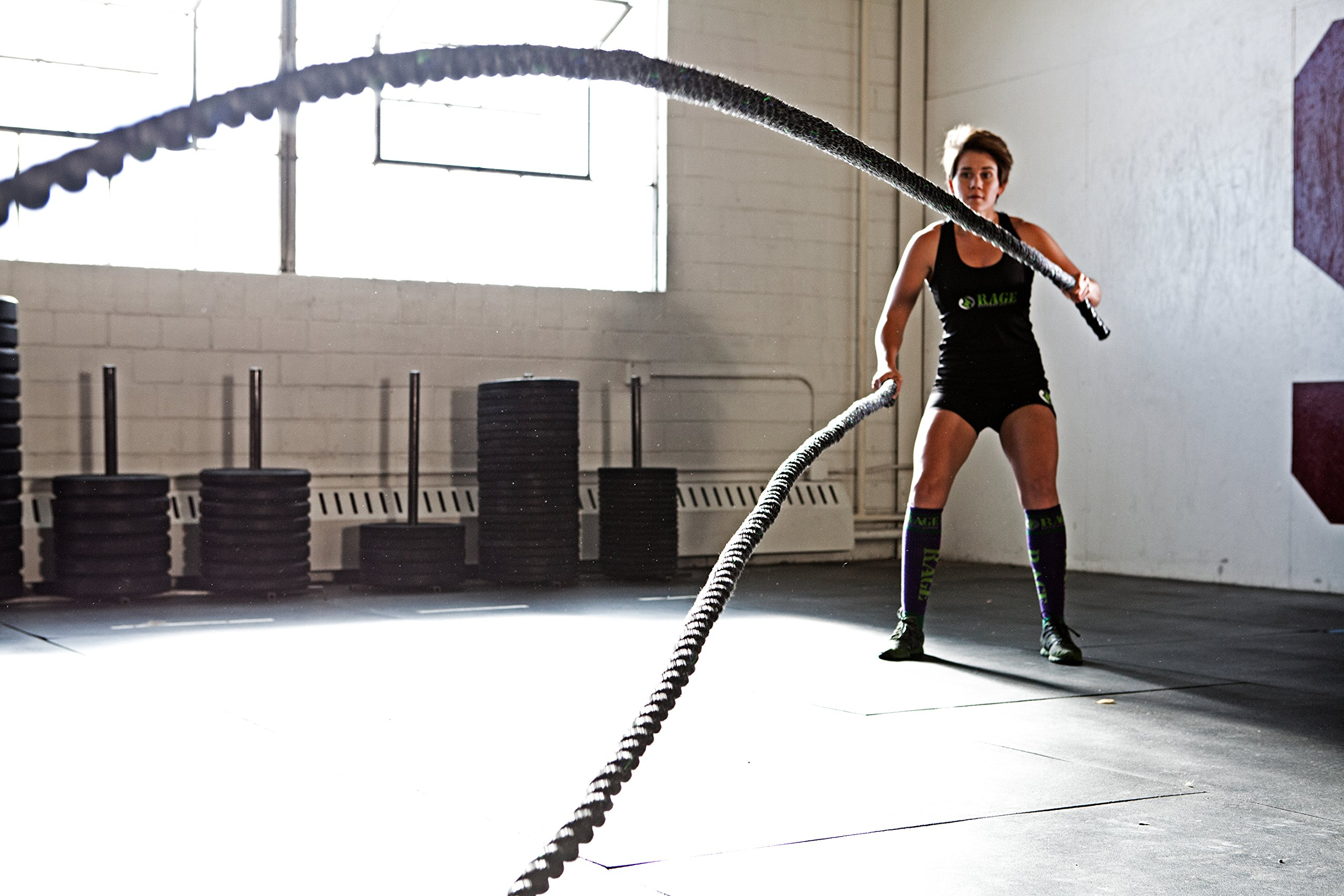 RAGE Fitness Performance Conditioning Rope, 40' by Rage Fitness (Image #2)