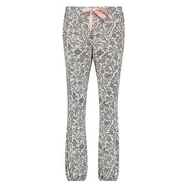 29c80512c98079 Hunkemöller Damen Pyjamahose Jersey Grau XL130513: Amazon.de: Bekleidung