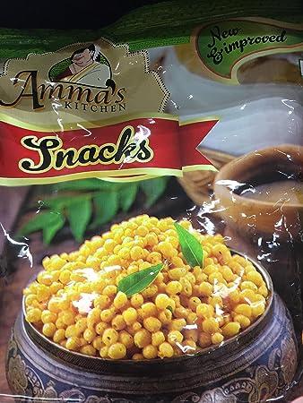 Amazon.com : Amma\'s Kitchen Snacks Kara Boondi 200 Grams : Grocery ...