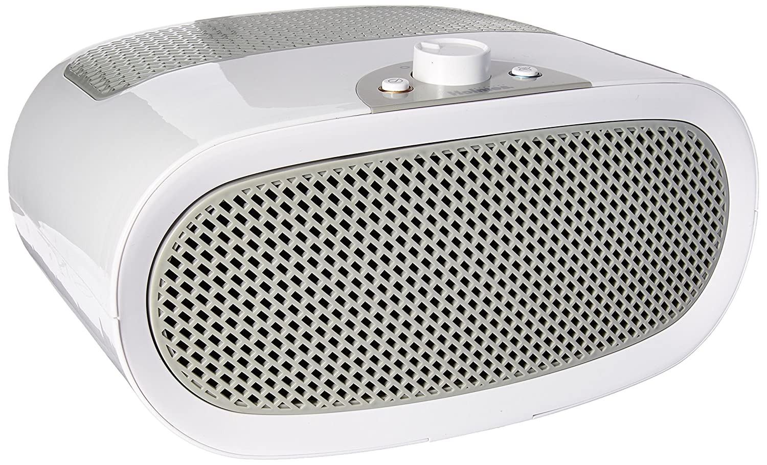 Holmes Small Room 3-Speed HEPA Air Purifier with Quiet Operation, White