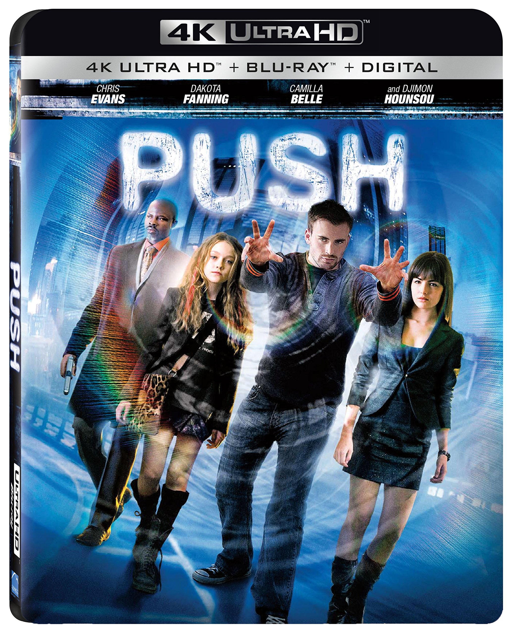 4K Blu-ray : Push (With Blu-Ray, 4K Mastering, 2 Pack, 2PC)