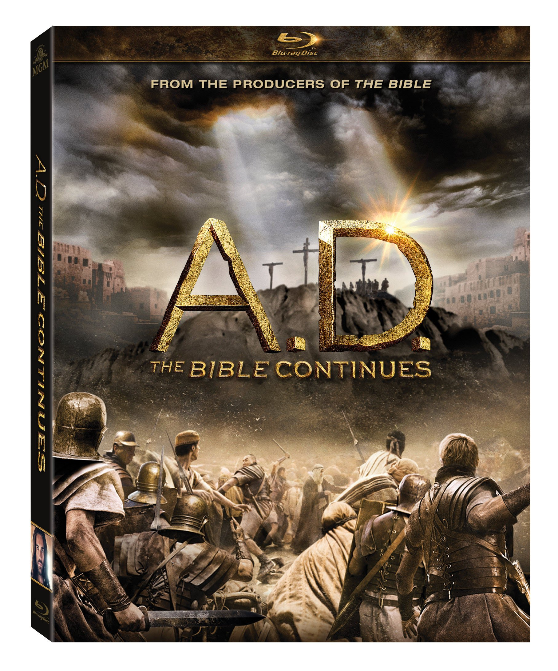 Blu-ray : A.D.: The Bible Continues (, Widescreen, Digital Theater System, Digitally Mastered in HD, Dubbed)