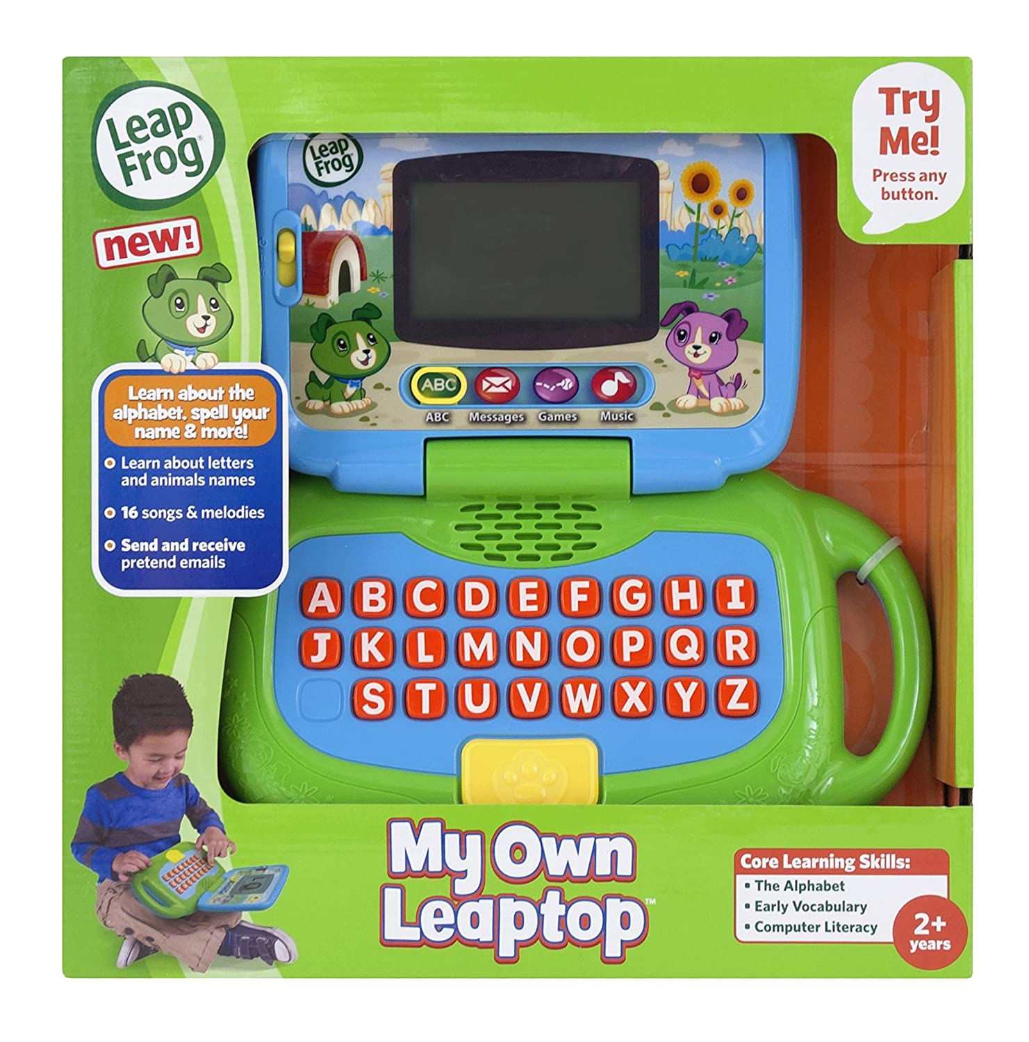 Leapfrog My Own Leaptop Scout Amazon Toys & Games