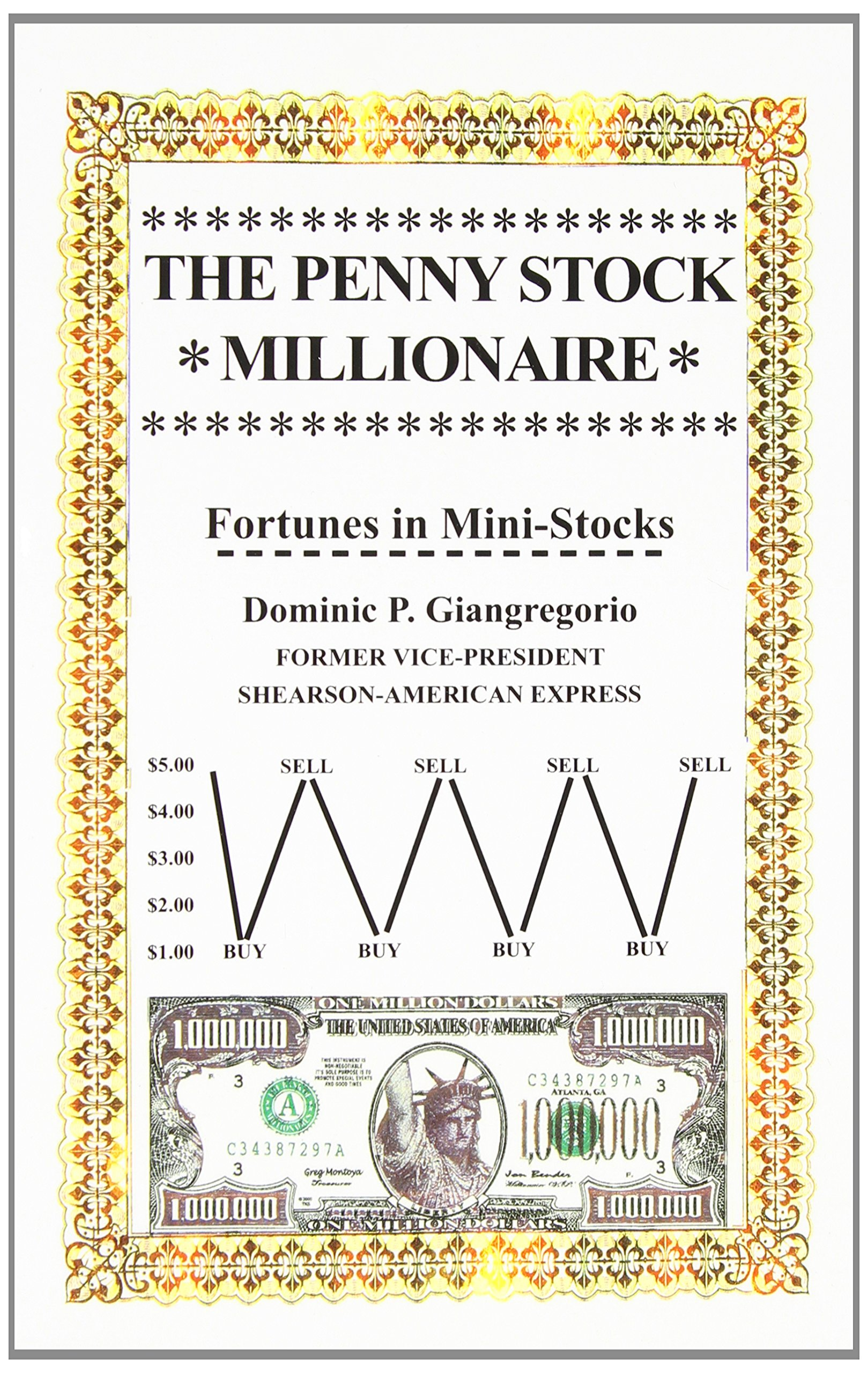the penny stock millionaire dominic p giangregorio the penny stock millionaire dominic p giangregorio 9781425762858 com books