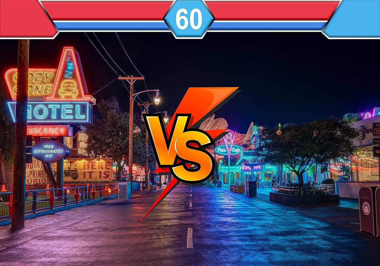 Phmojen Street Fighter Vs Photography Backdrop Amazon Co Uk