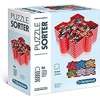 Clementoni- Accesorio Clasificador de Puzzles, Multicolor (37040.5)