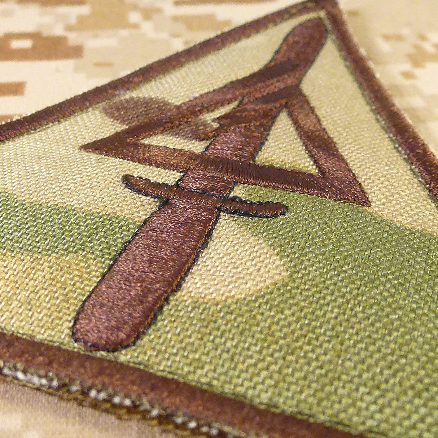 Call of Duty COD Delta Force US Esercito Army Operational Detachment Delta SFODA-D SFG Hook-and-Loop Toppa Patch