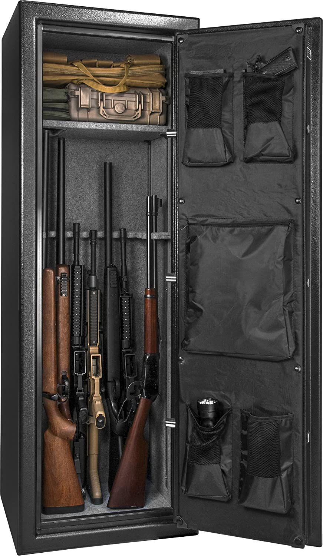Barska Fireproof Fire Vault Rifle Pistole Safe Keypad Lock Cabinet (8.5 Cubic Feet)
