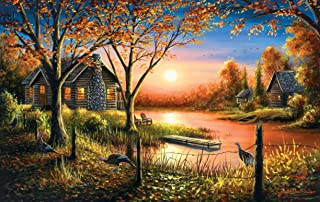 product image for Glorious Sunset 550 pc Jigsaw Puzzle by SunsOut