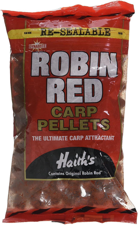 Dynamite Baits–Robin Red Carp Pellet Pre Drilled, colore: 0, taglia 900gr SP00047