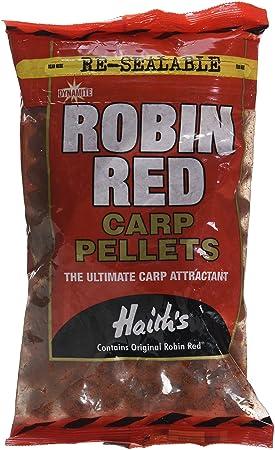 Dynamite Baits Robin Red - Bolitas de cebo semiperforadas para pescar carpas: Amazon.es: Deportes y aire libre