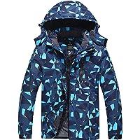 Wantdo Men's Waterproof Mountain Ski Jacket Waterproof Windbreaker Warm Parka Outdoor Winter Snow Coat with Detachable…