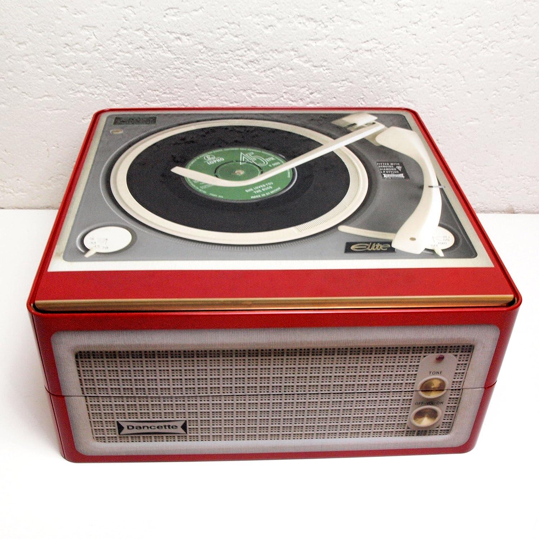 Tocadiscos LP caja de almacenamiento gigante