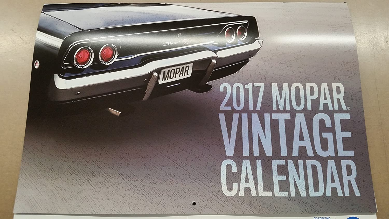 Amazon.com: 2018 MOPAR Muscle CAR Calendar 12 month Vintage DODGE ...