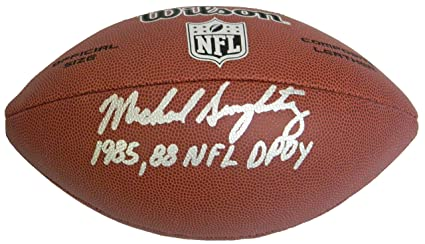 0d668e4fdb6 Mike Singletary Signed Wilson Limited Full Size NFL Football w/1985, 88 NFL  DPOY
