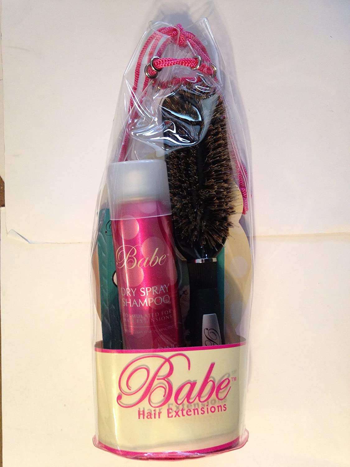 Amazon Babe Dry Shampoo Hair Extension Brush After Care Kit