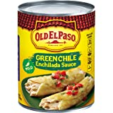 Old El Paso Mild Green Chile Enchilada Sauce 28 oz Can (pack of 6)