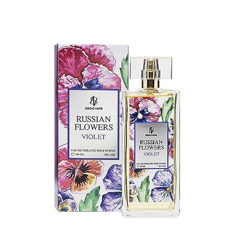 Russe Fleurs Violet Eau De Toilette Pour Femme 100 Ml Neuf Parfum