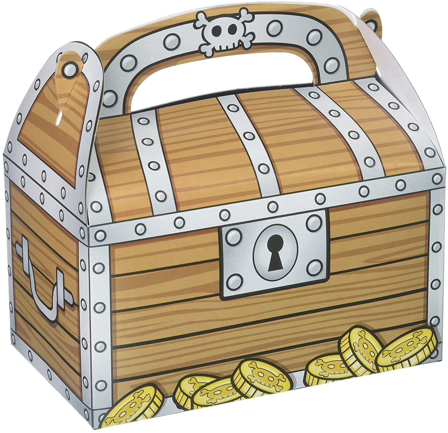 Amazon Rhode Island Novelty Treasure Chest Party Treat Boxes
