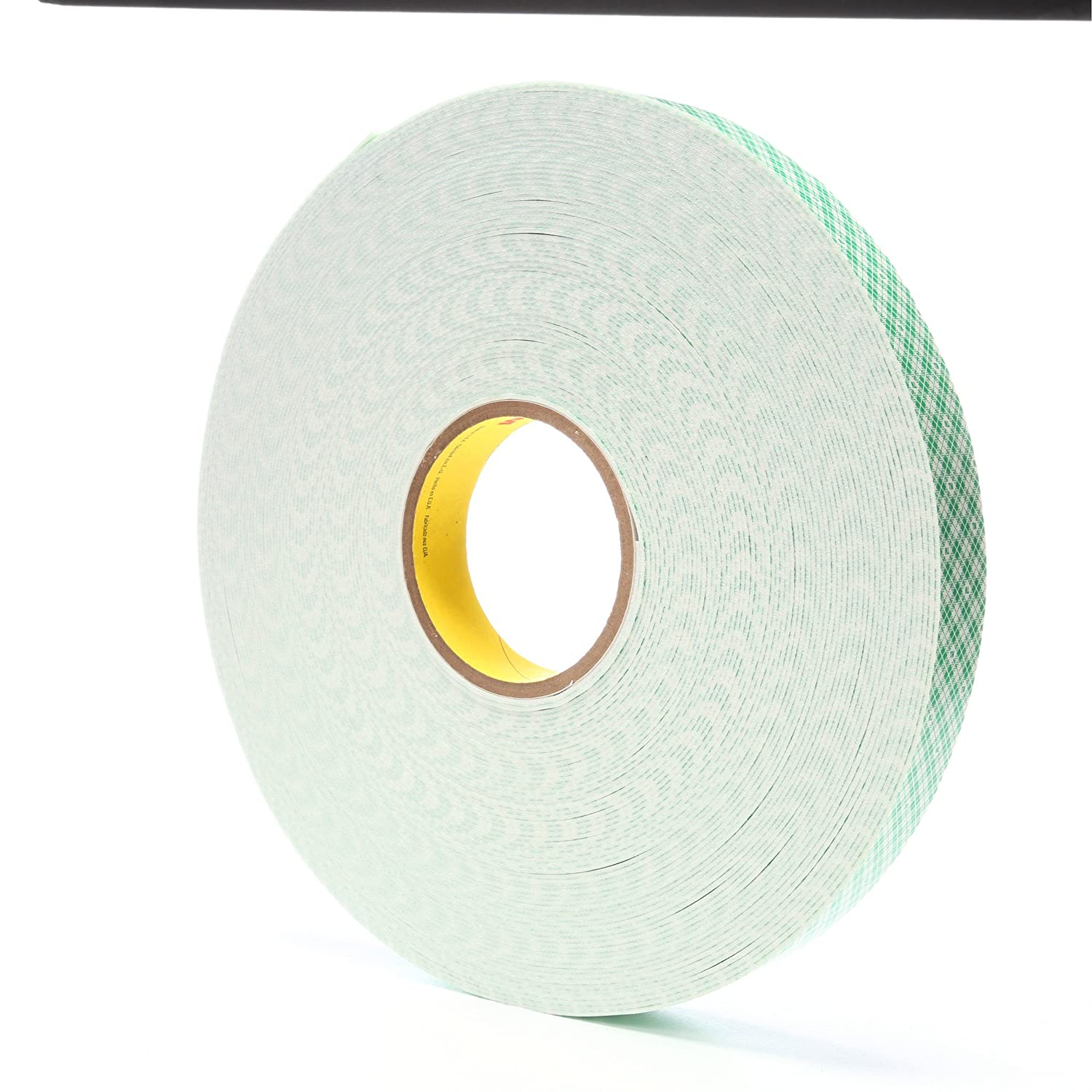3M 4016 Natural Polyurethane Double Coated Foam Tape 0.75 Width x 36yd Length 1 roll
