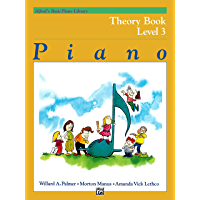 Alfred's Basic Piano Library - Theory Book 3: Learn How to Play Piano with This Esteemed Method book cover