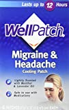 Wellpatch Migraine Cooling Headache Pads 4/box