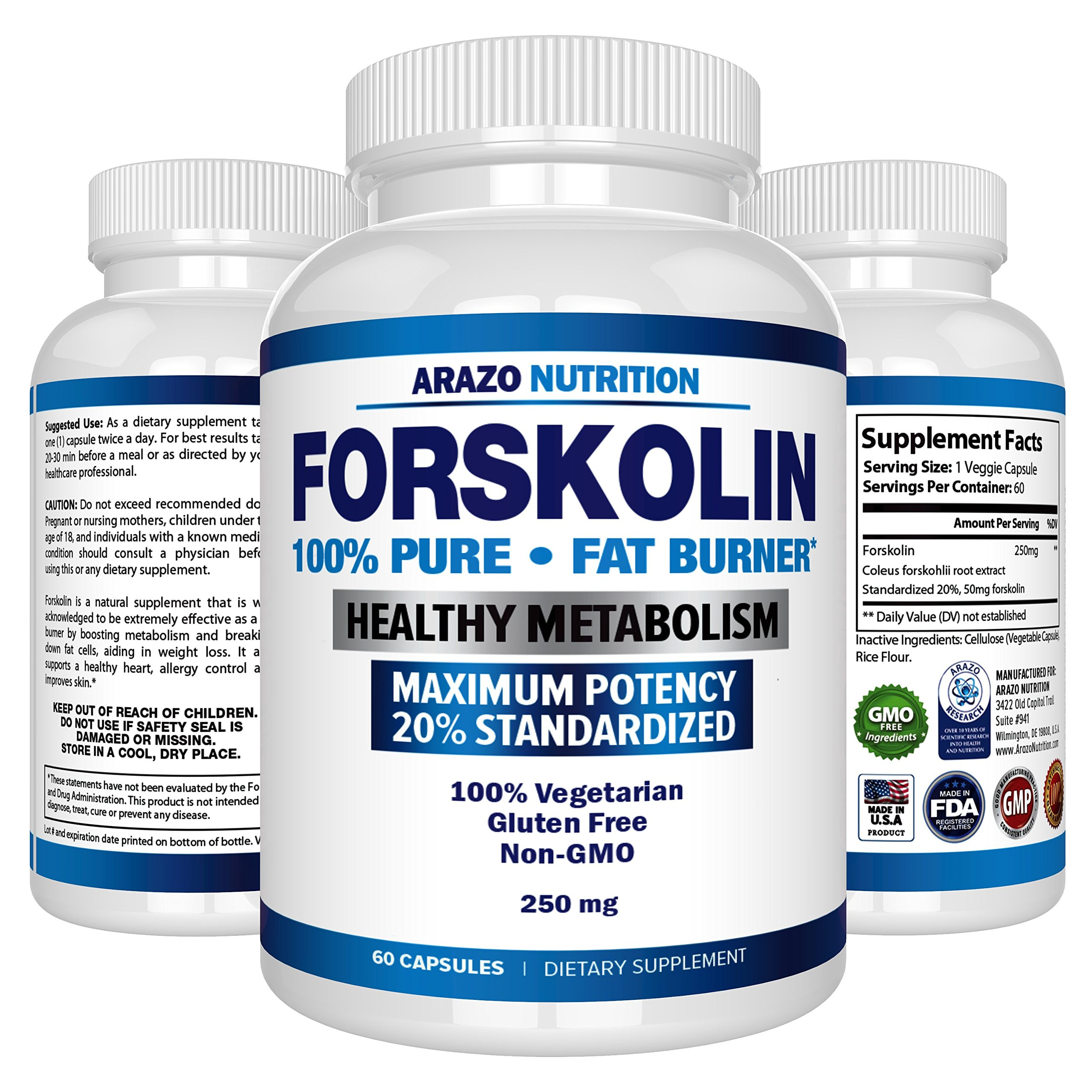 Amazon.com: 100% Pure Forskolin Extract For Extreme Weight