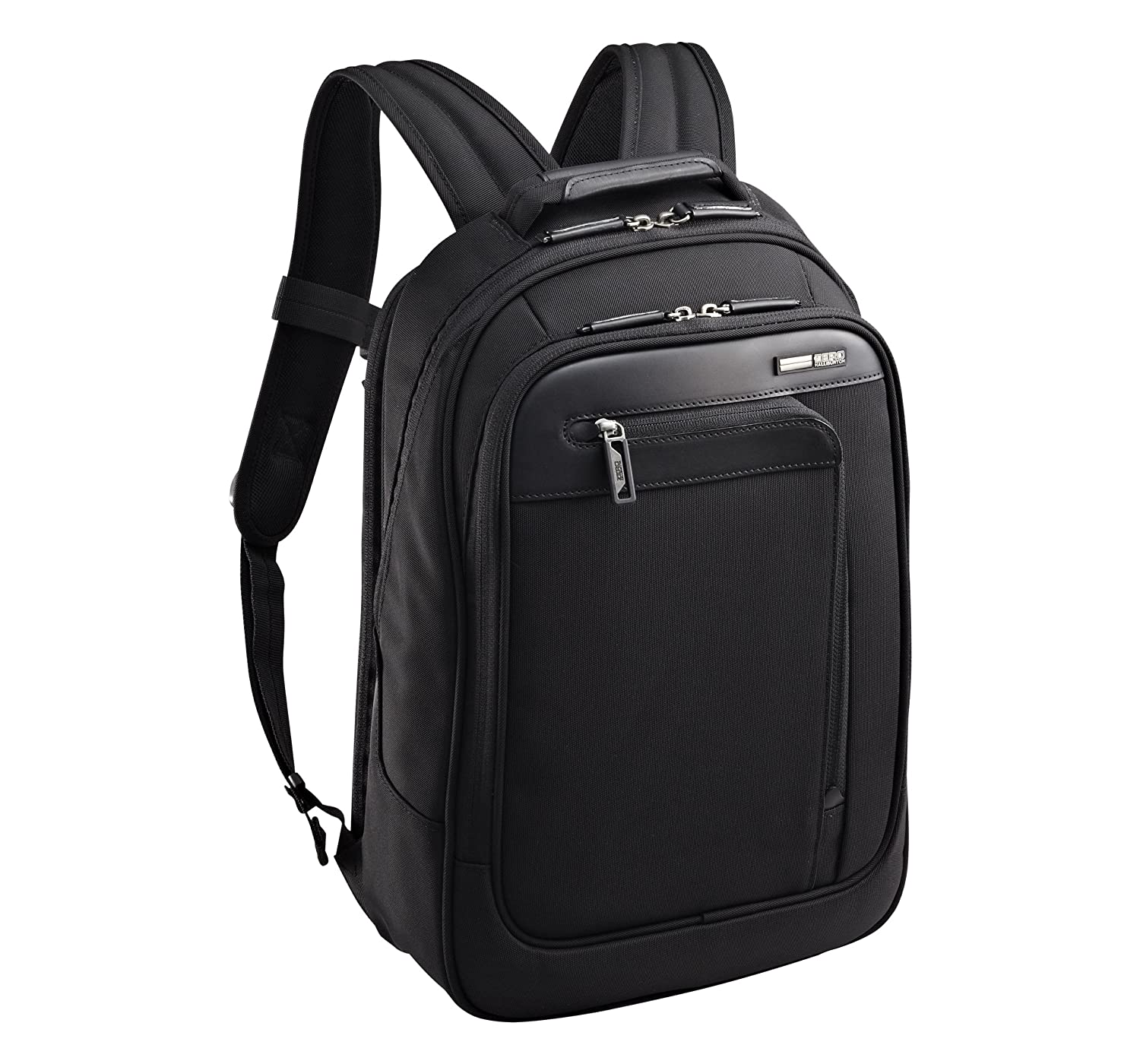 57b85a586604 Zero Halliburton Profile Business Backpack, Black, One Size 85%OFF ...