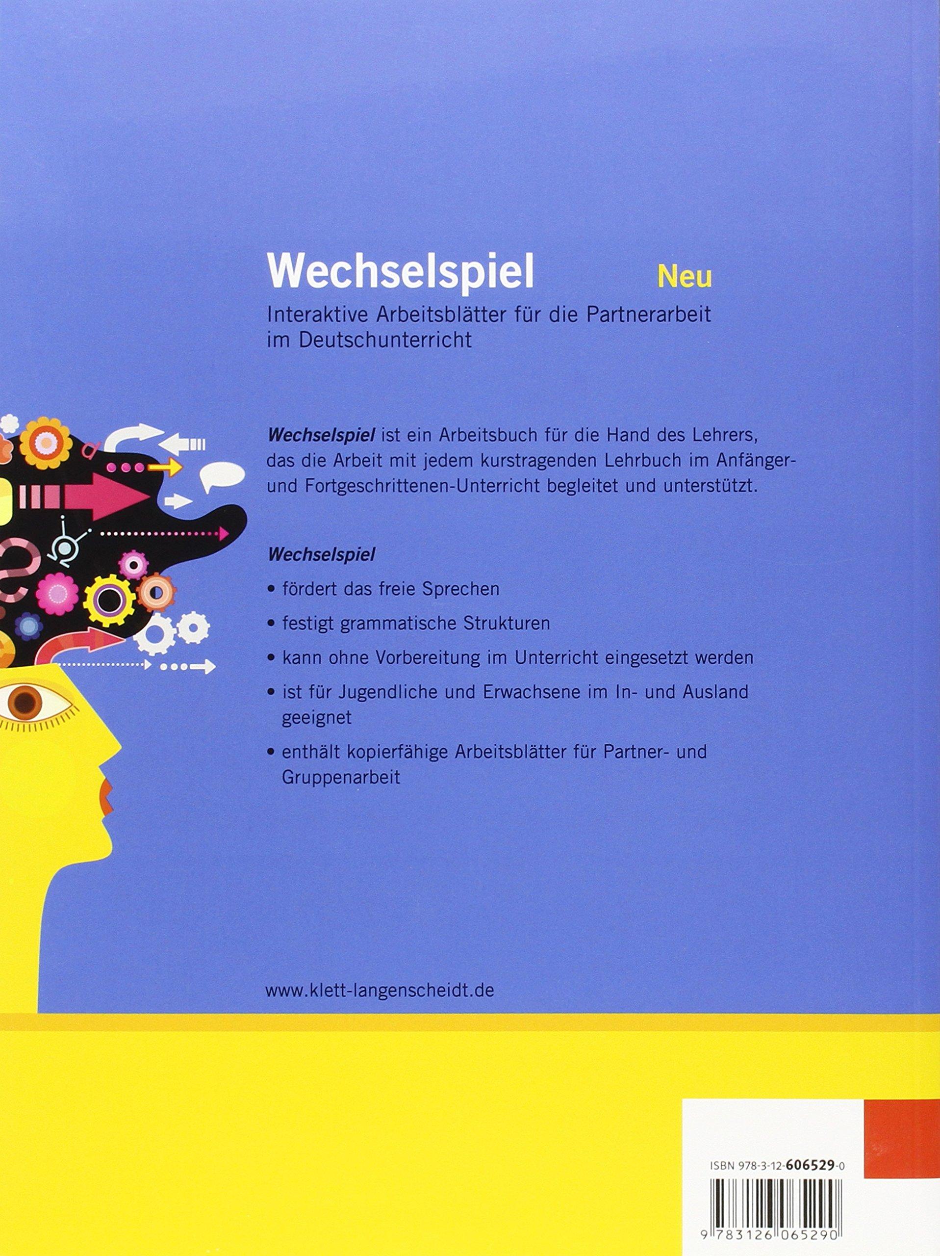 Wechselspiel: Wechselspiel A1 - B2 (German Edition): Dreke Michael ...