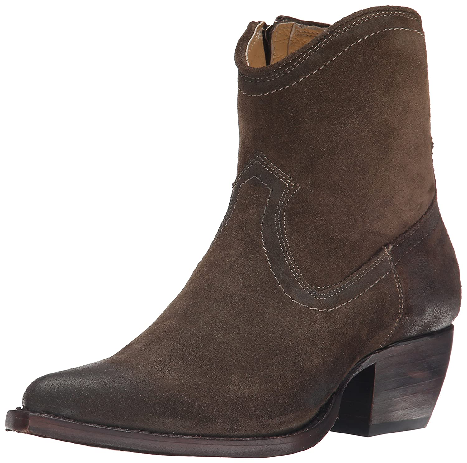 Amazon.co.uk: Cone Heel Brown Boots Women's Shoes