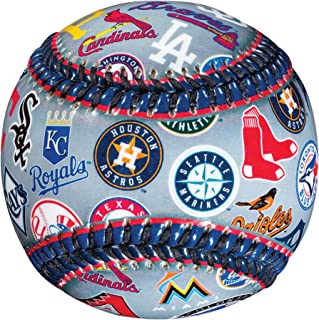 Franklin Sports MLB alle Team Logo Ball