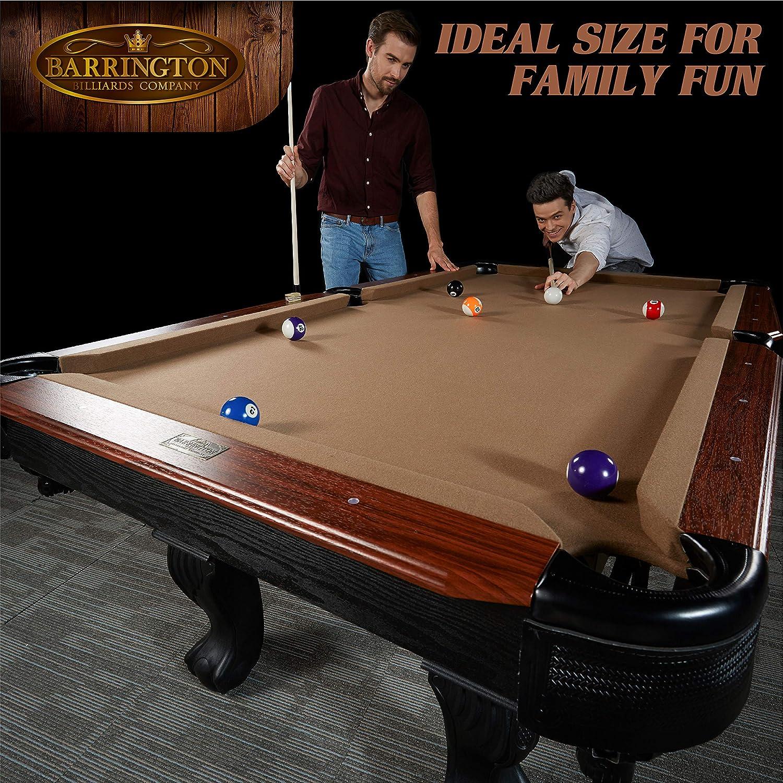 Barrington - Juego de mesa de billar - BLL090_108B, 228.60 cm ...
