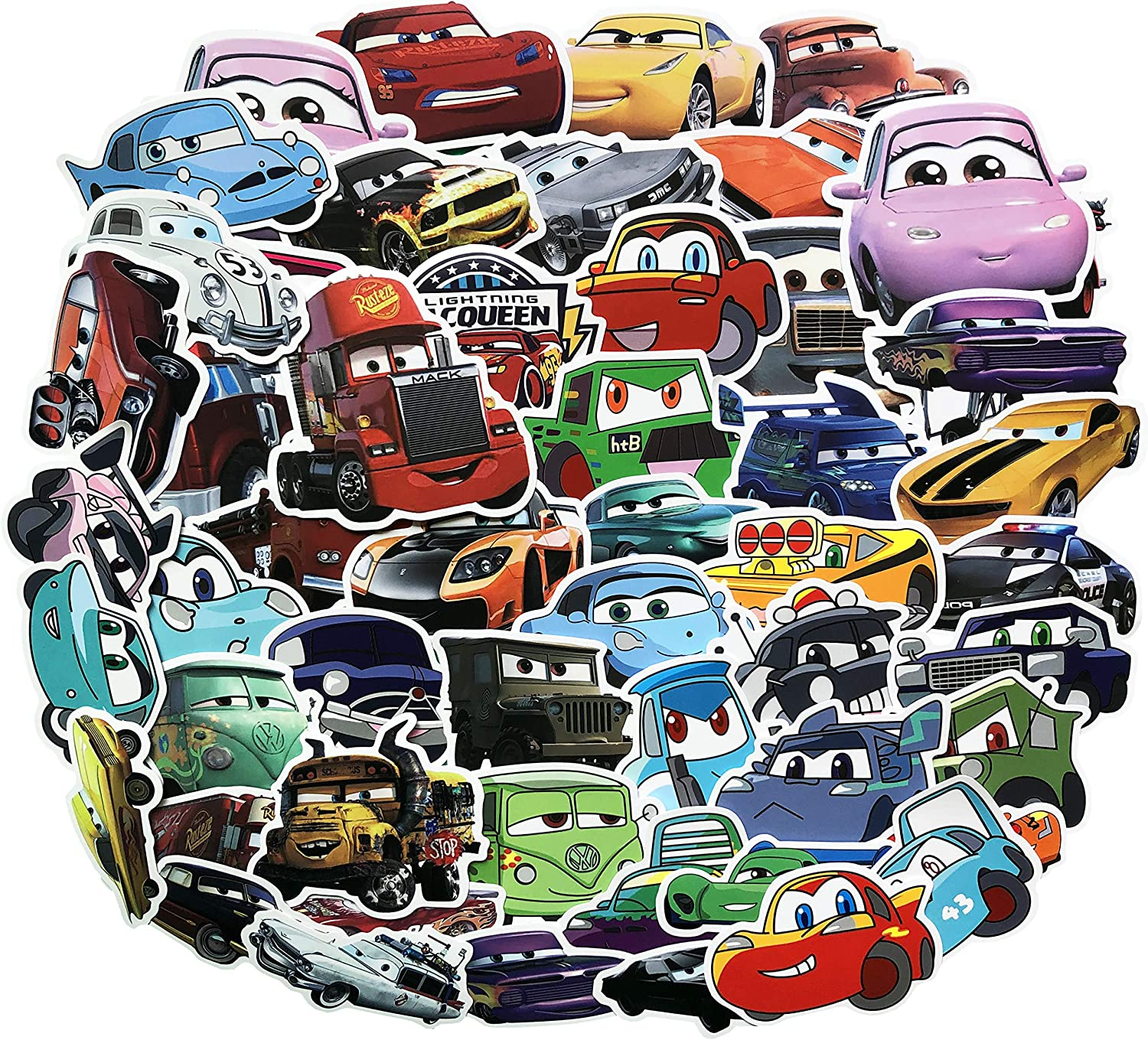 TV Stickers Greys Anatomy Stickers 50Pcs Waterproof Variety Vinyl Car Sticker Motorcycle Bicycle Luggage Decal Graffiti Patches Skateboard Stickers for Laptop Stickers JDM Greys Anatomy