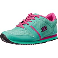 Force 10 Women's LIS- 52 Teal Blue Track and Field Shoes - 4 UK/India (37 EU)