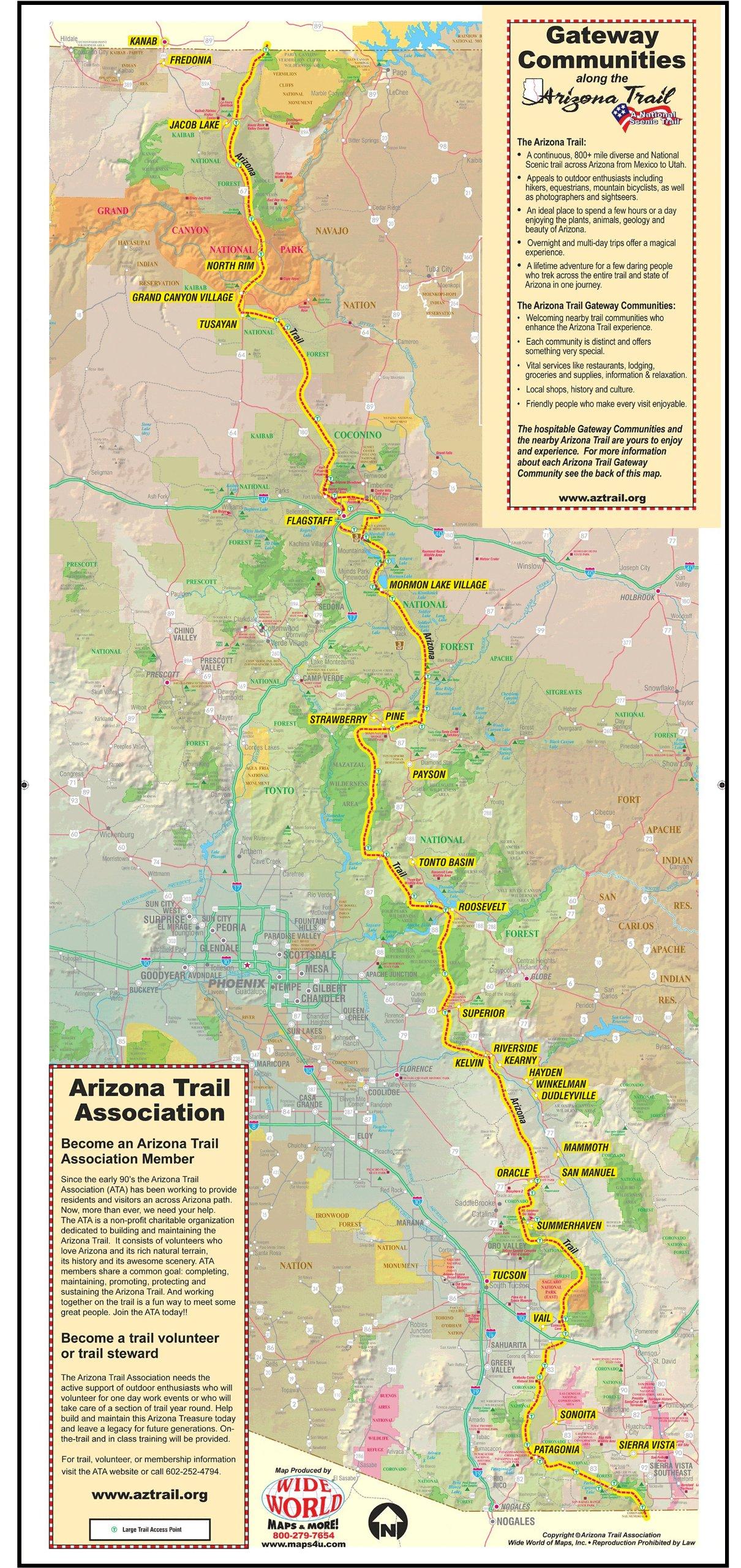 Gateway Communities Along the Arizona Trail: Arizona Trail ...