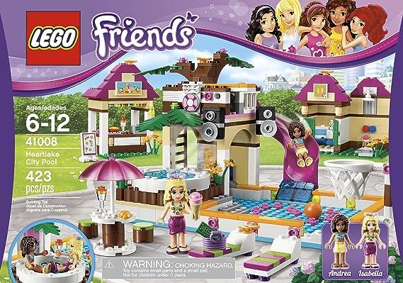 Amazon Lego Friends Heartlake City Pool 41008 Toys Games