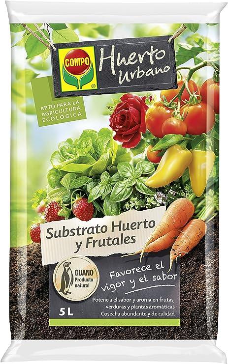 Compo Substrato Huerto Urbano 20 L [Tierra, Sustrato, Turba, Guano ...
