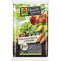 Compo universal para frutas, verduras, plantas aromáticas y de interior, Apto para agricultura ecológica, Substrato de…