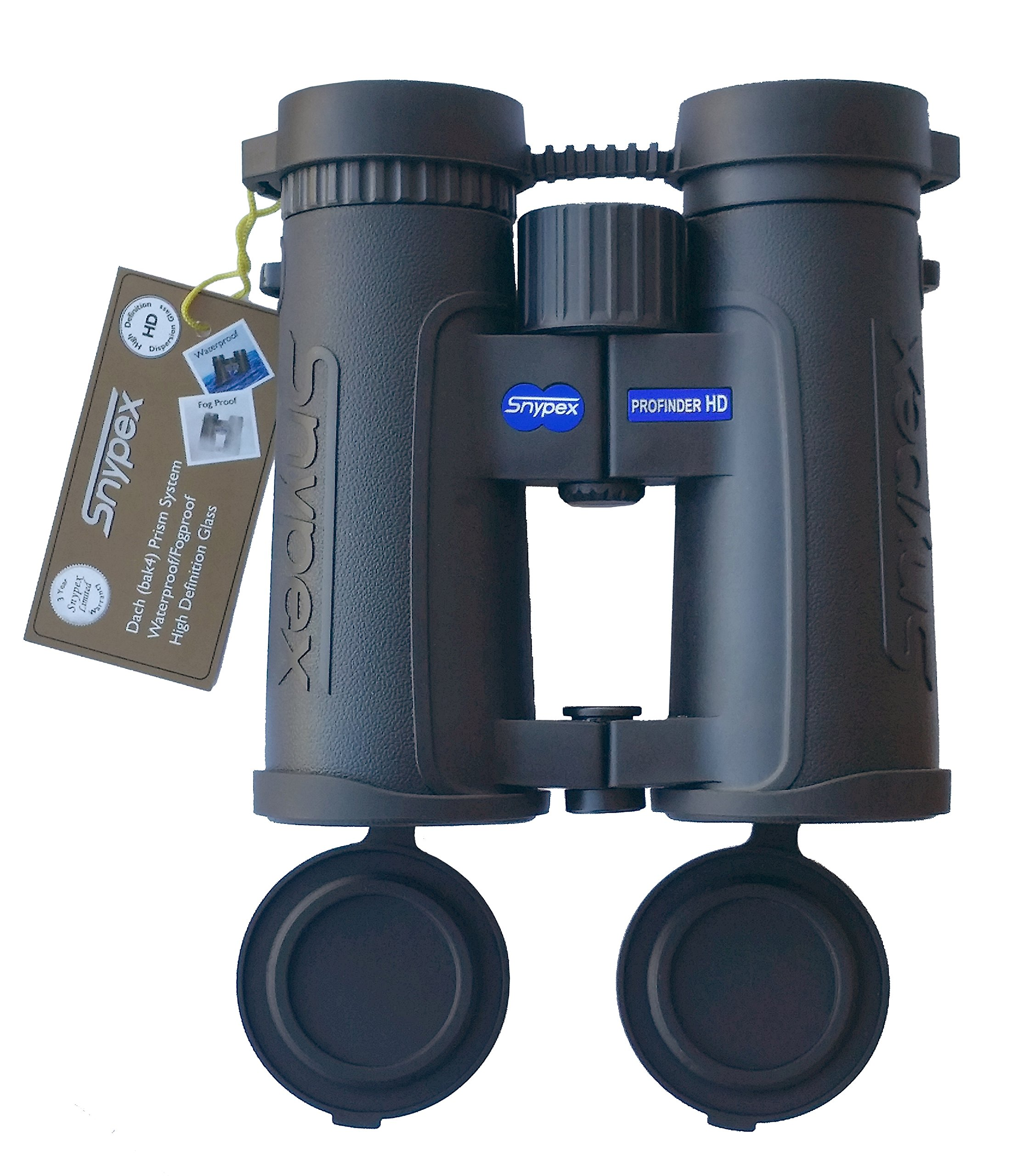 snypex Profinder HD 8 x 32 Sport Optic Binocular for Hiking, Biking, Camping, Travel, Safari by snypex