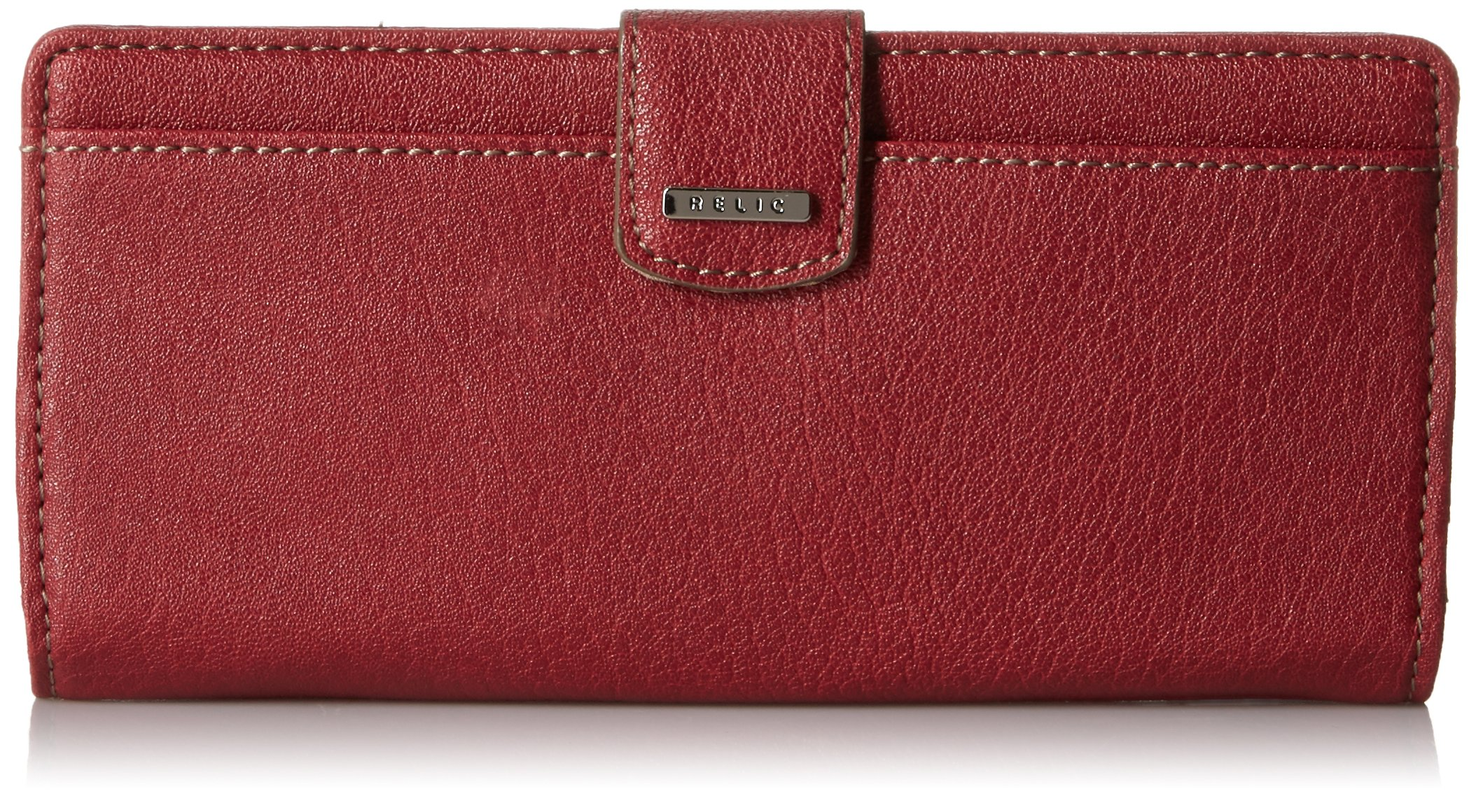 Relic by Fossil Women's RLS2644626 Checkbook Cover, Baked Apple, One Size