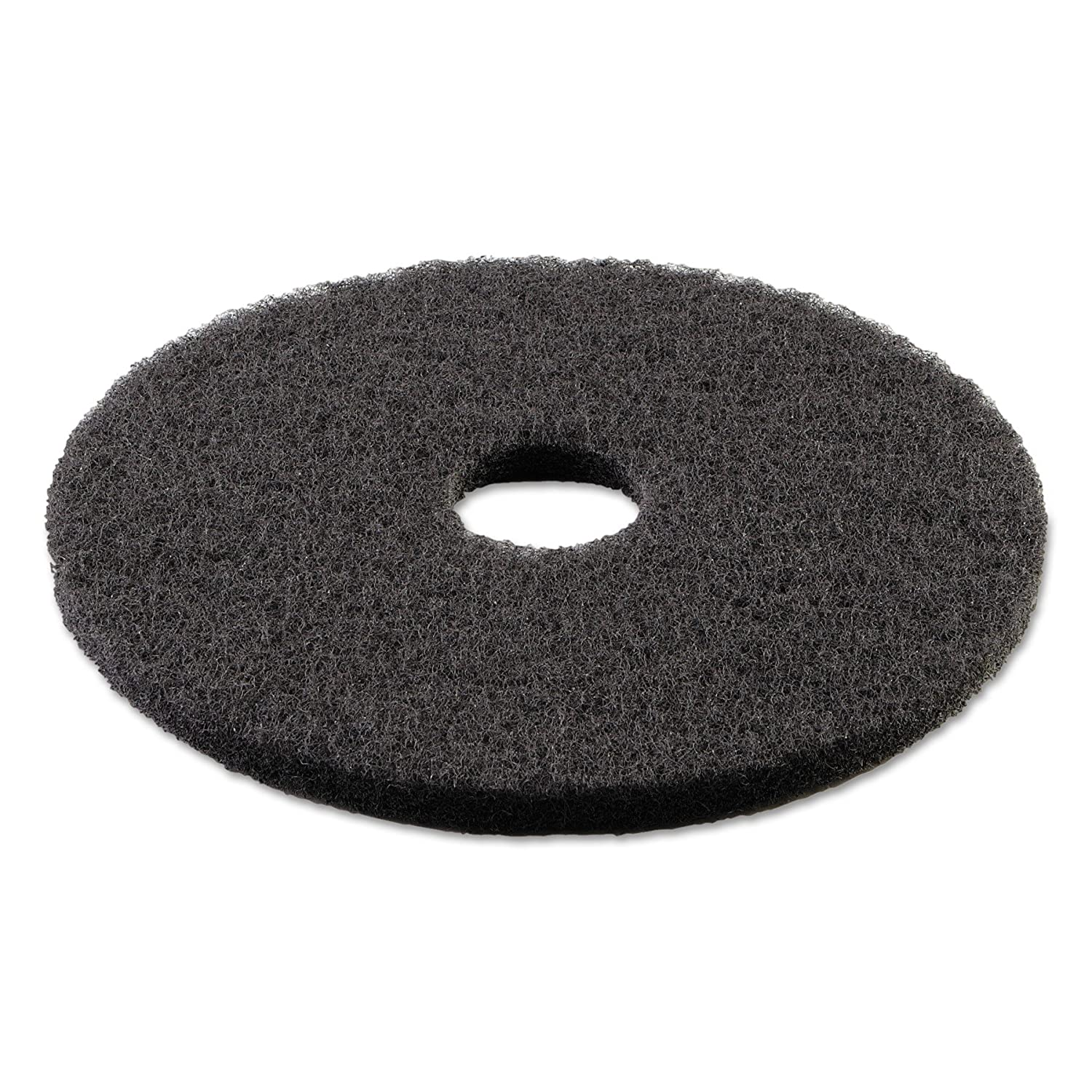 Boardwalk 4013BLA Standard Stripping Floor Pads, 13 Diameter, Black (Case of 5) 13 Diameter BWK4013BLA