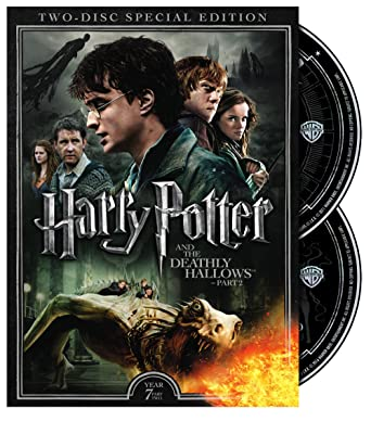 amazon com harry potter and the deathly hallows part ii 2 disc